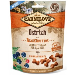 Carnilove crunchy snack ostrich with blackberries