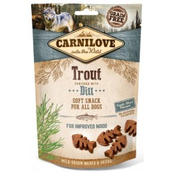 Carnilove soft snack trout with dille