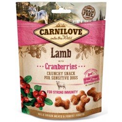 Carnilove crunchy snack lam with cranberries